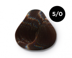 OLLIN PROFESSIONAL 5/0 краска для волос, светлый шатен / OLLIN COLOR 100 мл