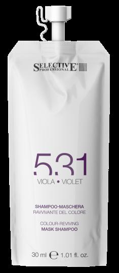 SELECTIVE PROFESSIONAL Шампунь-маска для возобновления цвета волос 531, фиолетовый 30 мл