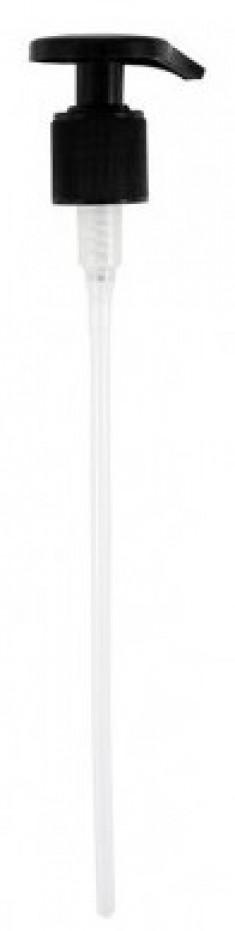 KAPOUS Насос-дозатор пластмассовый для флаконов 1000 мл, цвет черный (28/415)