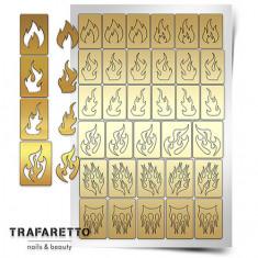 Trafaretto, Трафареты «Пламя»