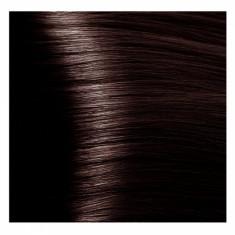 KAPOUS NA 4.45 краска для волос, коричневый медно-махагоновый / Magic Keratin 100 мл