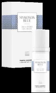 INSPIRA COSMETICS Гель-крем интенсивно увлажняющий для лица / Mykonos Blue 50 мл