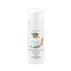 Sativa Крем для чувствительной легко краснеющей кожи лица №39 50мл