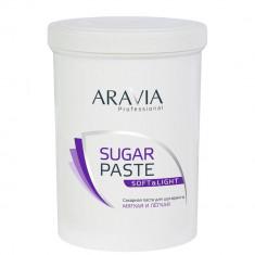 Aravia Сахарная паста для шугаринга Мягкая и лёгкая 1500г Aravia professional