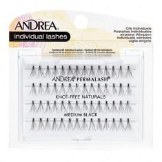 Andrea, Пучки ресниц Perma, безузелковые, средние, черные
