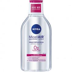 Nivea Мицеллярная вода Дыхание кожи для сухой и чувствительной кожи 400мл